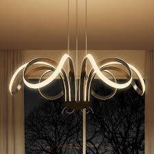 capella vmc32420bl modern flower pedal led chandelier by vonn