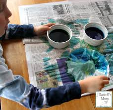 The Weather Was Warm And Sunny Day We Made These Earth Crafts Set Them Outside On Deck Clean Dry Newspaper They Dried In Minutes