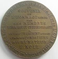 chambre de commerce de beauvais monnaies médailles chambre de commerce de beauvais médaille bronze