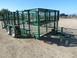 77x14 Landscape Trailer 2 3500lb Axles 1 Brake Idler EZ Lube X 3 16 Angle Frame 4 C Channel Wrap Tongue Top 48 Expanded