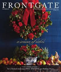 Frontgate Christmas Trees Decorated by Frontgate October 2014 Catalog By Amy Howell Hirt Issuu