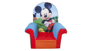 Marshmallow Flip Open Sofa Disney Princess by Marshmallow Fun Furniture Mickey Mouse Club House High Back Chair