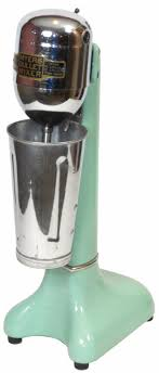 Image 1 Soda Fountain Myers Bullet Mixer Mint Green Porcelain Exc Working Cond