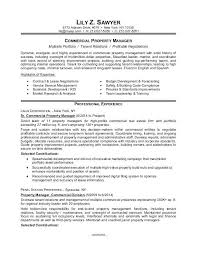 Sample Resume Management For A Commercial Property Manager Restaurant Trainee