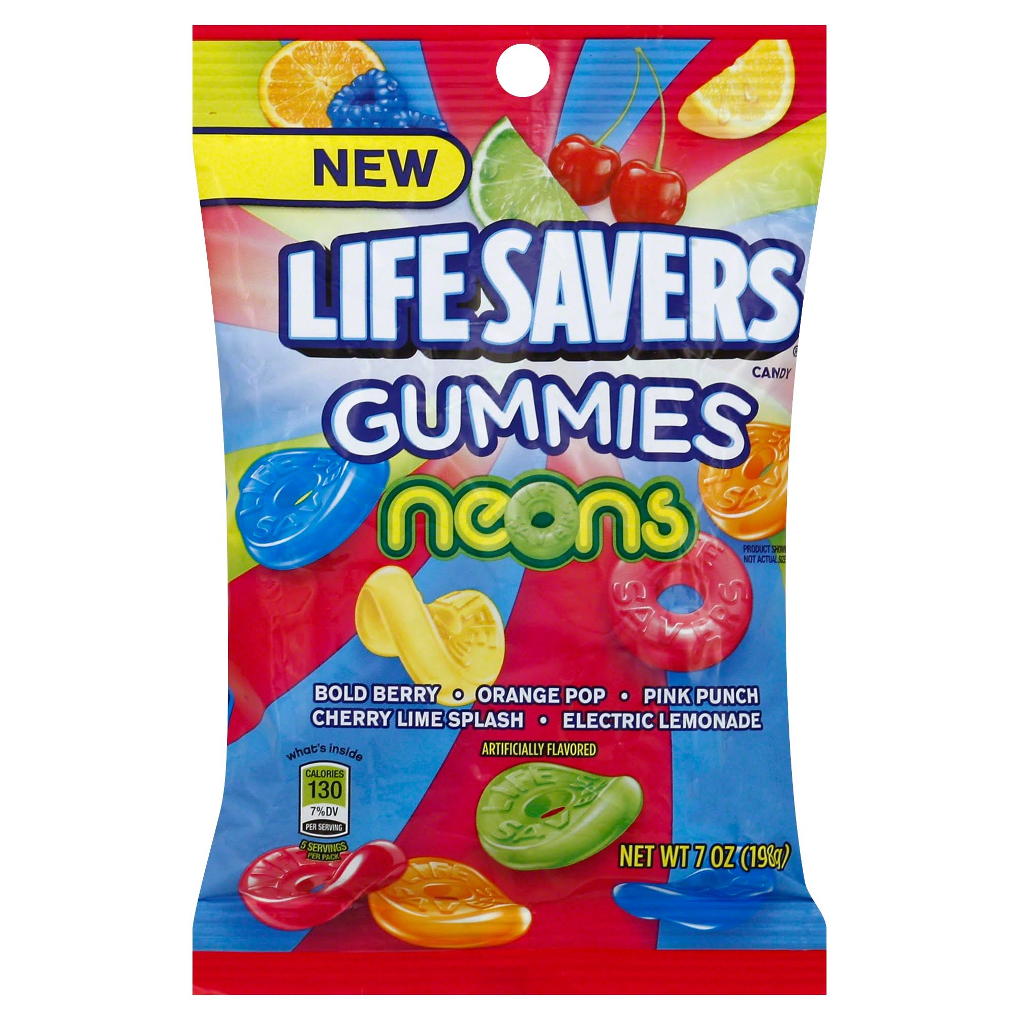 LifeSavers Candy, Gummies, Neons - 7 oz