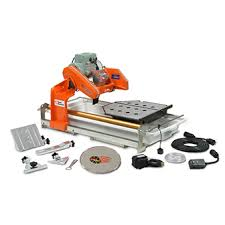 medium tile saw rental the home depot