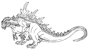 Godzilla Coloring Pages Printable