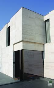 100 Travertine Facade Marble For A Villa On Lake Como SACERDOTE MARMI Carrara