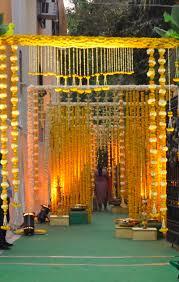 Wedding IdeasIndian Entrance Decor The Glamorous Color Of Indian