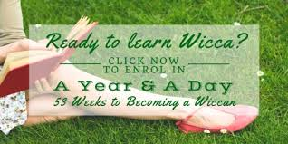 Ready To Learn Wicca Click Here Enrol In A Year Day