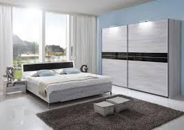schlafzimmer set acapulco doppelbett komplettset nachtkommoden kleiderschrank bett 180 x 200 weißeiche abs glas grey
