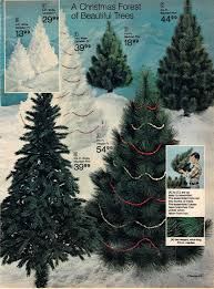 Lifelike Artificial Christmas Trees Canada by Artificial Christmas Trees A Vintage Catalog Extravaganza