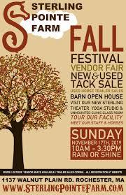 100 Farm House Tack Fall FestivalOpen Vendor Faire Sale
