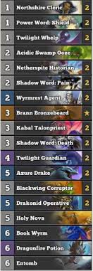best priest deck january 2017 season 34 hs decks and guides