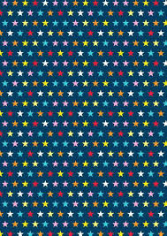 Free Printable Scrapbook And Wrap Paper Stars On Blue Designs To Print Border Patterns With Photos