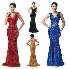sequin prom dress ebay