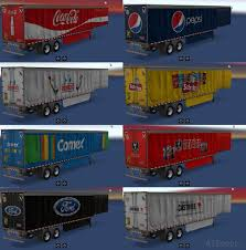 Trailers & Trailers Skins | American Truck Simulator Mods - Part 65 Cushing Transportation Home Facebook R M Pacella Inc Google About Rm Pecella Roadwork Excavation Cstruction Ma Trucking Gamesmodsnet Fs17 Cnc Fs15 Ets 2 Mods K Doherty A Semitrailer Truck Manac For American Truck Simulator Trailer Grain Trailers With Automatic Installation Pladelphia Mod Ats Mods Red Classic Box Mod