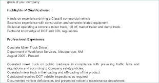 Cdl Truck Driver Job Description For Resume From Sample
