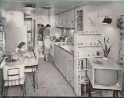 1955 Straight Line Kitchen