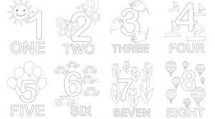 Numbers Math Printables For Kids