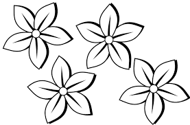 Draw A Simple Flower Easy To Flowers May Be Helpful For My Watercolour Free