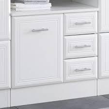 VonHaus Colonial Under Basin Cabinet Cupboard White Bathroom Sink