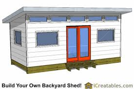 Shed Plans 16x20 Free by 10x20 Modern Studio Shed Plans
