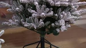Bethlehem Lights Christmas Trees Qvc by Santa U0027s Best Balsam Fir Christmas Tree With Rgb 2 0 Technology On
