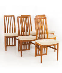 Kai Kristiansen For Schou Andersen 170 Mid Century Danish Teak Highback  Dining Chairs - Set Of 6 French Highback Ding Chairs Beautifully Designed Louis Xv High Back Ding Chairs Beech Wood Late 19th Century Sku 9622 Whtear Reproduction Fniture Arden Chair Skyline John Lewis Partners Tropez Set Of Six Mid Modern Walnut Dramatic 5 Kamron Tufted Upholstered Faye Grey Faux Leather Pair With Chrome Legs Lssbought Fabric 2 Gray
