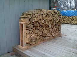 firewood rack 3 steps