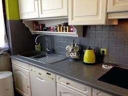 carrelage cuisine plan de travail peindre carrelage cuisine plan de travail cuisine plan travail image