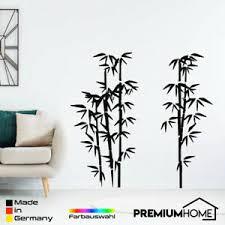 details zu bambus pflanze wandtattoo design wohnzimmer entspannen modern aufkleber sticker