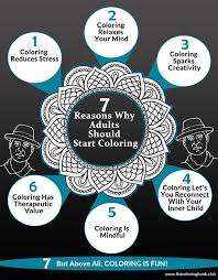 Adults Love Coloring Books And For Good Reasons Has Many Benefits