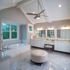 houston carrara marble bathrooms bathroom traditional with ottoman