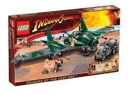 Amazon.com: LEGO Indiana Jones Fight On The Flying Wing (7683 ...