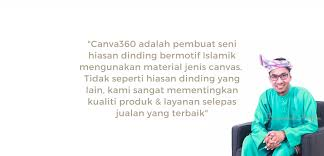 canva360 islamic wall deco