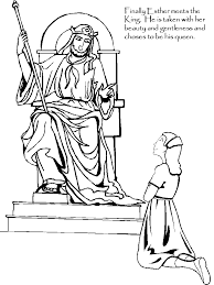 The Story Of Esther In Bible For Kids AZ Coloring Pages