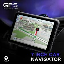 100 Gps Truck Route 706 7 Inch Car GPS Navigation Navigator Win CE 60