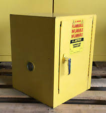 Justrite Flammable Cabinet 45 Gallon by Flammable Cabinet Ebay