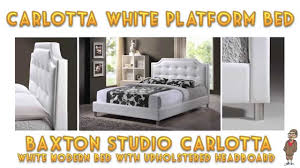 Baxton Studio Platform Bed by How To Build A Platform Bed Baxton Studio Carlotta Tips And
