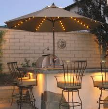 Traditional Outdoor Bar Style With String Light Lowes Patio