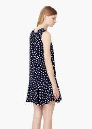 polka dot dress women mango usa