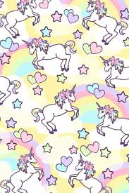 Cute Unicorn Rainbow Wallpaper Pin By Patricia De La Cruz On Wallpapers Pinterest