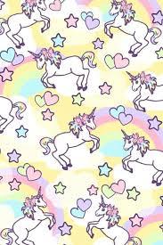Cute Unicorn Rainbow Wallpaper Pin By Patricia De La Cruz On Wallpapers Pinterest