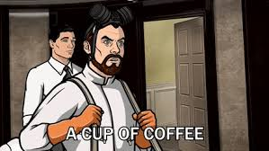 Archer I Need Coffee GIF