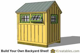 6x8 greenhouse shed plans storage shed plans icreatables com