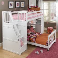 Awesome Teenagers Bedroom With Stunning Walmart Loft Bed Design Beautiful White Wood Twin Over Full