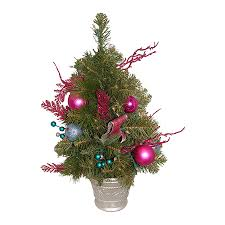 Northlight 2 Ft Pre Lit Whimsical Artificial Christmas Tree With 50 Constant White Clear