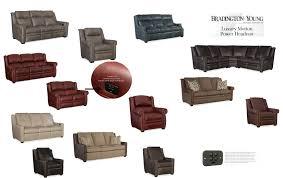 Bradington Young Sofa Set by Bradington Young Lux Motion 960 Imagine 962 Discovery 964 Cadence