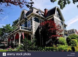 Newport Rhode Island The elegant Victorian era Sarah Kendall Bed